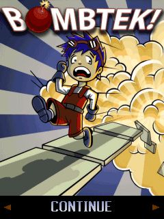 بازی موبایل Bombtek به صورت جاوا